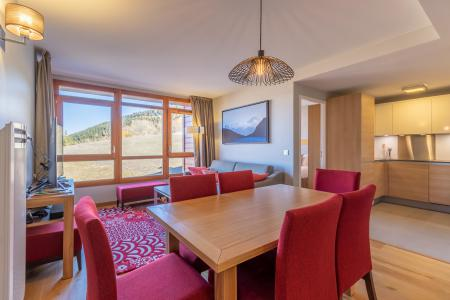 Location au ski Appartement 4 pièces 6 personnes (602) - Résidence les Monarques - Les Arcs - Table