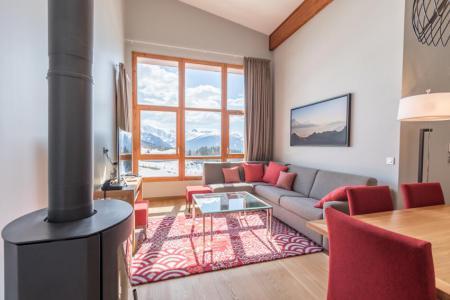 Location au ski Appartement 4 pièces 6 personnes (701) - Résidence les Monarques - Les Arcs - Poêle à bois