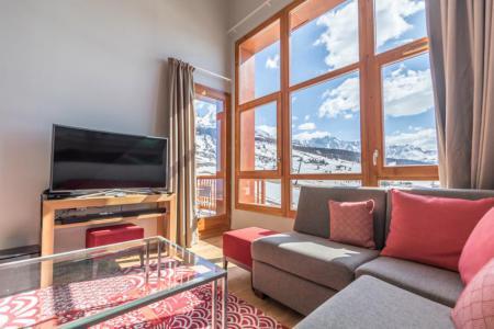 Location au ski Appartement 4 pièces 6 personnes (701) - Résidence les Monarques - Les Arcs - Séjour