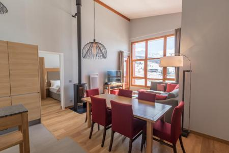 Location au ski Appartement 4 pièces 6 personnes (701) - Résidence les Monarques - Les Arcs - Table