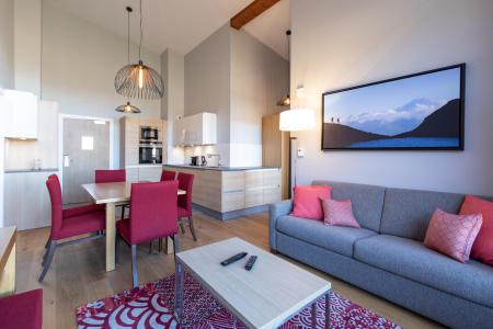 Location au ski Appartement 4 pièces 6 personnes (702) - Résidence les Monarques - Les Arcs - Canapé