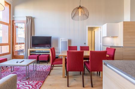 Location au ski Appartement 4 pièces 6 personnes (702) - Résidence les Monarques - Les Arcs - Salle à manger