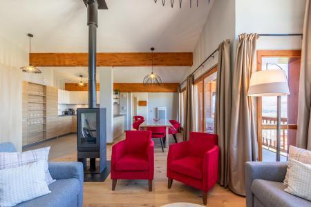 Location au ski Appartement 6 pièces 10 personnes (1000) - Résidence les Monarques - Les Arcs - Banquette