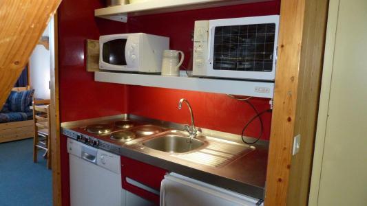 Location au ski Appartement 3 pièces 8 personnes (408) - Residence Les Tournavelles - Les Arcs - Extérieur hiver