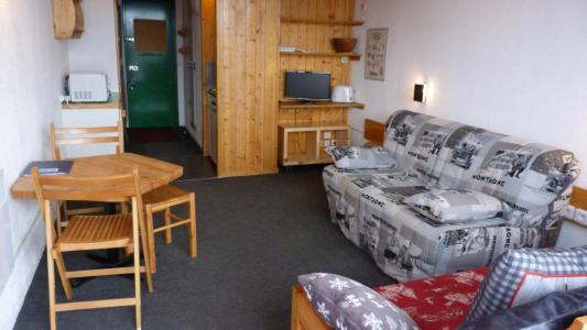 Location au ski Studio 3 personnes (122) - Residence Les Tournavelles - Les Arcs - Kitchenette