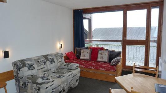 Location au ski Studio 3 personnes (122) - Residence Les Tournavelles - Les Arcs - Séjour