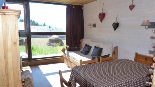 Location au ski Studio 5 personnes (020) - Residence Les Tournavelles - Les Arcs - Séjour