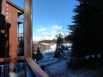 Holiday in mountain resort Studio mezzanine 4 people (117) - Résidence Mirantin 1 - Les Arcs - Winter outside