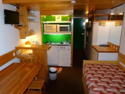 Location au ski Studio mezzanine 4 personnes - Residence Mirantin 1 - Les Arcs - Séjour