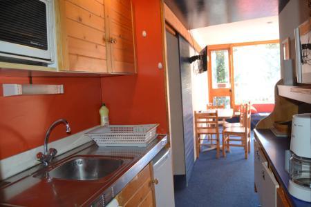Location au ski Studio coin montagne 4 personnes (403) - Résidence Miravidi - Les Arcs