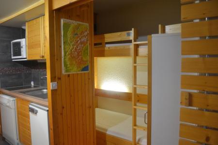 Location au ski Studio coin montagne 4 personnes (117) - Résidence Miravidi - Les Arcs - Chambre