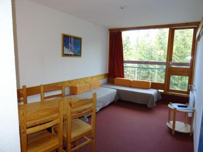 Location au ski Studio coin montagne 4 personnes (404) - Résidence Miravidi - Les Arcs - Appartement