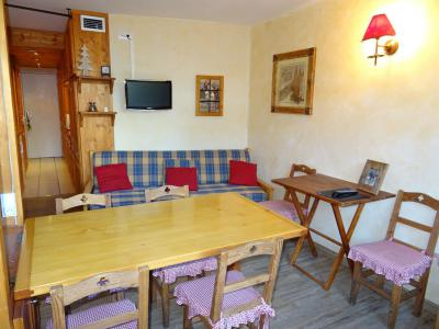 Location au ski Studio coin montagne 4 personnes (428) - Résidence Miravidi - Les Arcs - Séjour
