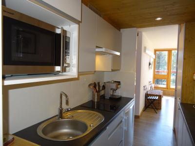 Location au ski Studio coin montagne 4 personnes (503) - Résidence Miravidi - Les Arcs - Cuisine