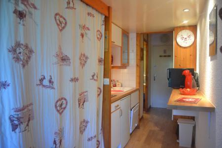 Location au ski Studio coin montagne 4 personnes (610) - Résidence Miravidi - Les Arcs - Salle d'eau
