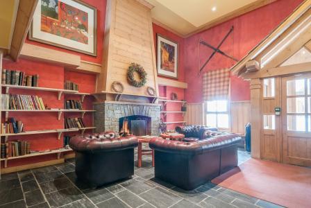 Location au ski Résidence P&V Premium le Village - Les Arcs - Cheminée