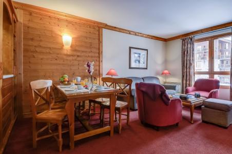 Location au ski Résidence P&V Premium le Village - Les Arcs - Coin repas