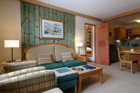 Skiverleih Résidence P&V Premium le Village - Les Arcs - Kleines Wohnzimmer