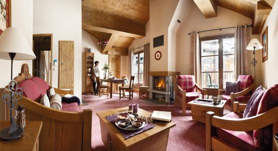 Location au ski Résidence P&V Premium le Village - Les Arcs - Séjour