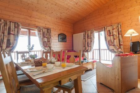 Location au ski Residence P&v Premium Les Alpages De Chantel - Les Arcs - Coin repas