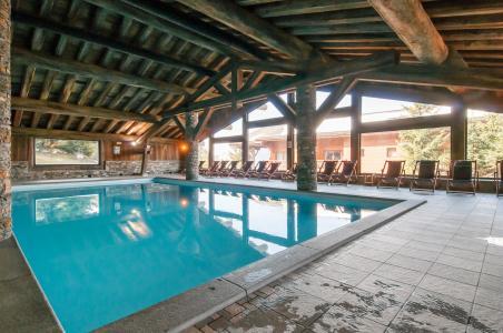 Location au ski Residence P&v Premium Les Alpages De Chantel - Les Arcs - Piscine