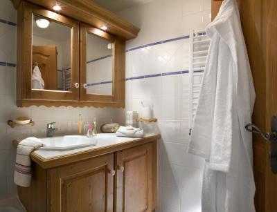 Location au ski Residence P&v Premium Les Alpages De Chantel - Les Arcs - Salle de bains