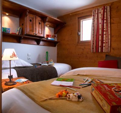 Skiverleih Résidence P&V Premium les Alpages de Chantel - Les Arcs - Schlafzimmer