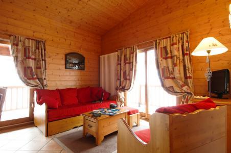 Skiverleih Résidence P&V Premium les Alpages de Chantel - Les Arcs - Sitzbank
