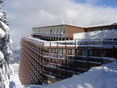 Vacances en montagne Résidence Pierra Menta - Les Arcs - Extérieur hiver