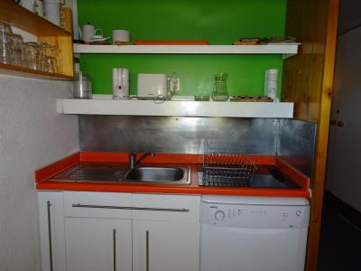 Location au ski Appartement 2 pièces coin montagne 6 personnes (845) - Résidence Pierra Menta - Les Arcs - Cuisine