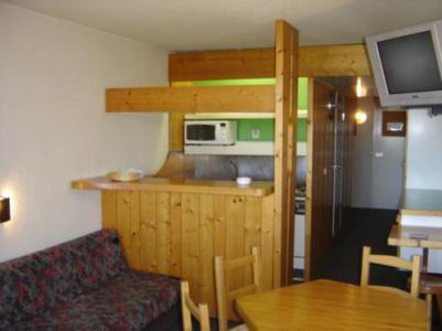 Location au ski Studio coin montagne 5 personnes (836R) - Résidence Pierra Menta - Les Arcs - Cuisine
