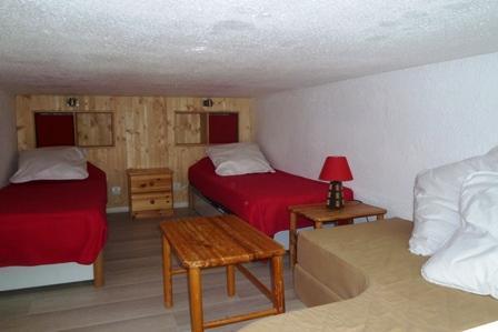 Location au ski Studio mezzanine 3 personnes - Residence Pierre Blanche - Les Arcs