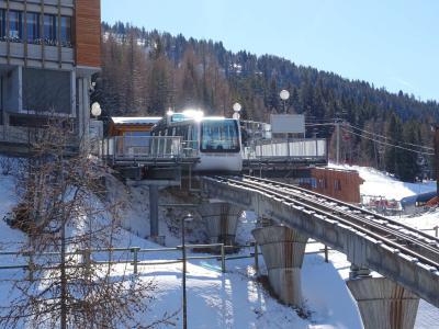Location au ski Studio cabine 4 personnes - Résidence Pierre Blanche - Les Arcs