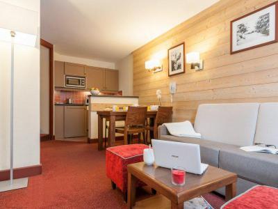 Location au ski Appartement 2 pièces 3-5 personnes - Résidence Pierre & Vacances le Belmont - Les Arcs