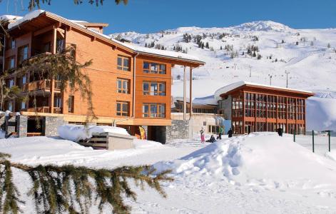 Location au ski Résidence Prestige Edenarc - Les Arcs - Extérieur hiver