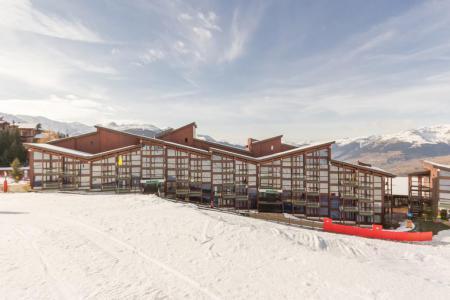 Location au ski Résidence Tournavelles 2 - Les Arcs - Extérieur hiver