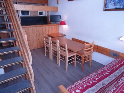 Location au ski Appartement 3 pièces mezzanine 8 personnes (201) - Résidence Tournavelles - Les Arcs - Séjour