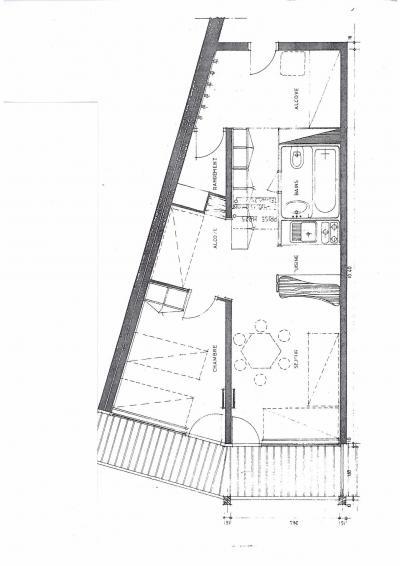 Location au ski Appartement 2 pièces 6 personnes (1064) - Residence Varet - Les Arcs