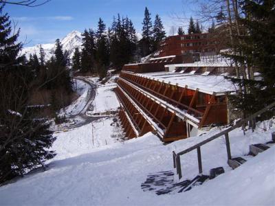 Vacances en montagne Résidence Versant Sud - Les Arcs - Extérieur hiver