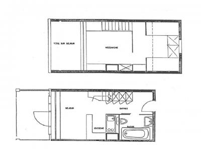 Location au ski Appartement 3 pièces 5 personnes (400) - Résidence Vogel - Les Arcs