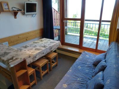 Location au ski Appartement 2 pièces mezzanine 6 personnes (004) - Résidence Vogel - Les Arcs - Séjour