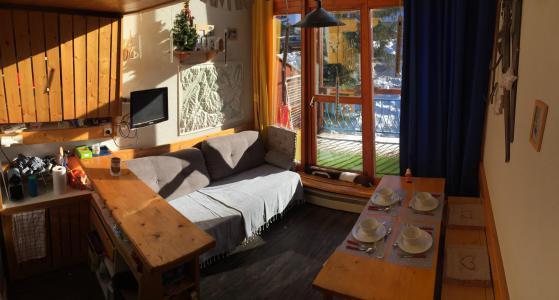 Location au ski Studio mezzanine 5 personnes (308) - Résidence Vogel - Les Arcs - Séjour