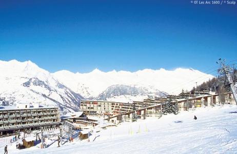 Location au ski Residences Lagrange Vacantel - Les Arcs - Extérieur hiver