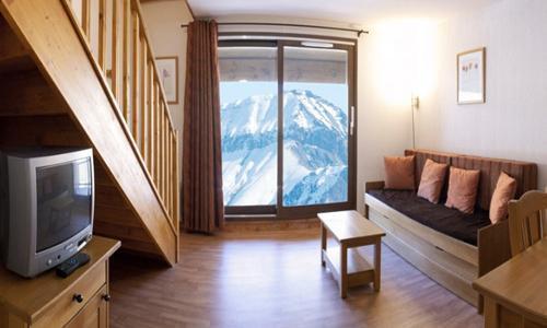 Location au ski Appartement duplex 3 pièces 8 personnes - Residence Les Terrasses De La Toussuire - Les Bottières - Séjour