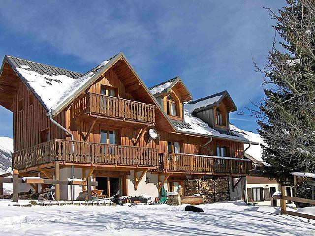 Holiday in mountain resort 3 room chalet 8 people (1) - La Cascade - Les Bottières - Winter outside