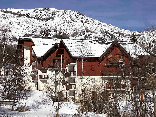 Location au ski Appartement 1 pièces 3 personnes (4) - Le Bochate - Les Bottières - Extérieur hiver
