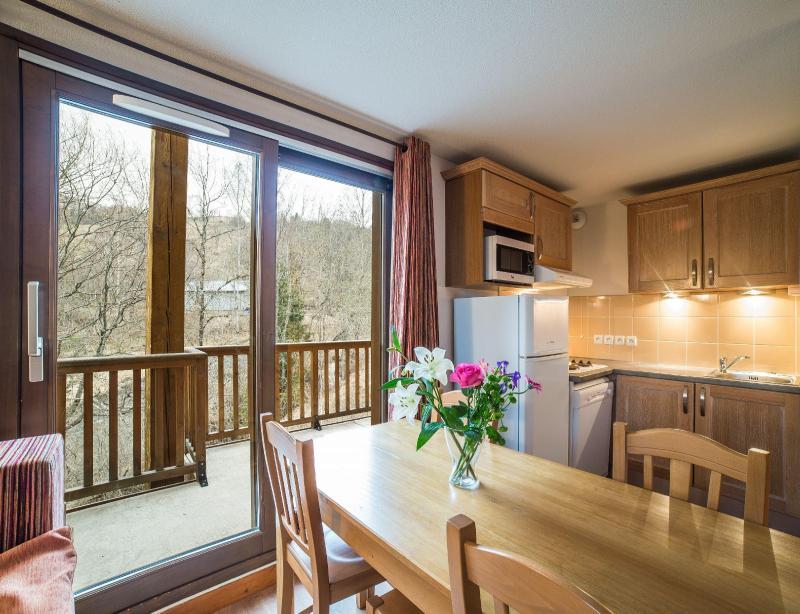 Rent in ski resort Résidence les Terrasses de la Toussuire - Les Bottières - Living area