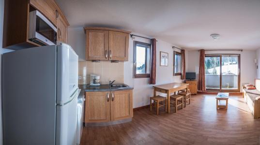 Rent in ski resort Résidence les Terrasses de la Toussuire - Les Bottières - Living room