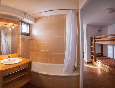 Rent in ski resort Résidence les Terrasses de la Toussuire - Les Bottières - Shower room