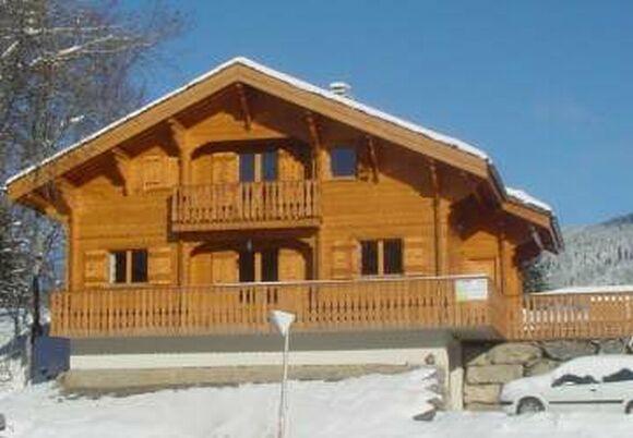 Location au ski Chalet triplex 6 pièces 10 personnes (Pré du Bois) - Les Chalets - Les Carroz